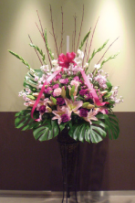 新宿 開店祝い スタンド花
