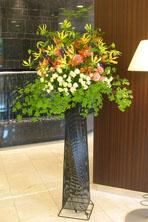 新宿 開業祝い スタンド花